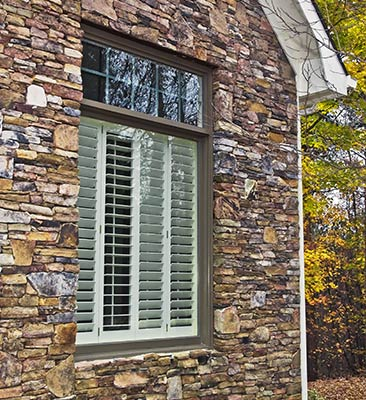 Window with Shutters in Parkville, MD